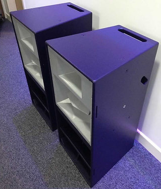 2 x Funktion One Res 4E-CP Loudspeakers (One Pair)