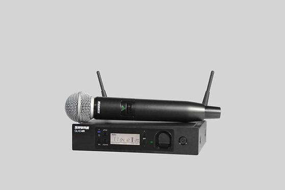 Shure GLXD24RUK/SM58-Z2 Rackmount Vocal Microphone - Wireless