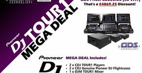 GDS Launch Pioneer DJ TOUR1 MEGA DEAL Today!