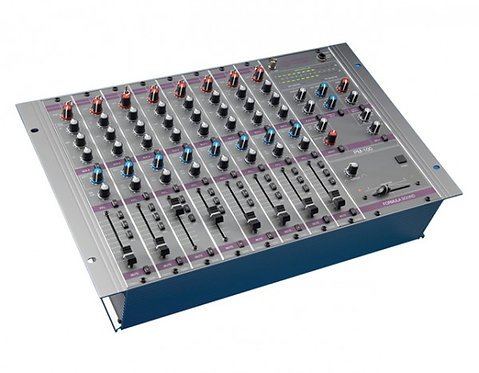 Formula Sound PM100 8-Ch Production Mixer with 8-Ch Chassis Rack Mount