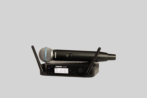 Shure GLXD24/B58 - BETA 58A Handheld Wireless System