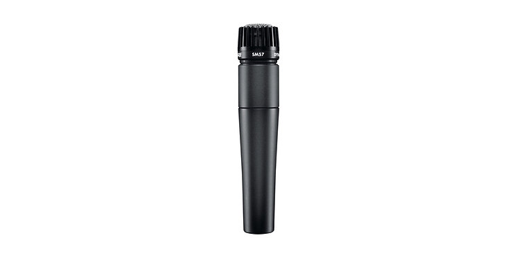 Shure SM57 Dynamic Instrument Microphone - The Industry Standard