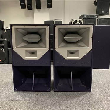 Used Funktion One Res 2 (Pair) Loudspeakers (Excellent Condition)