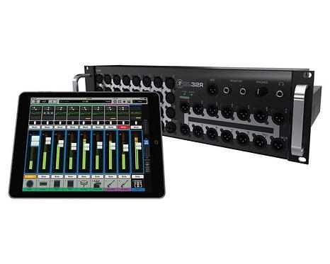 Mackie DL32R 32Ch Wireless Digital Rack Mixer