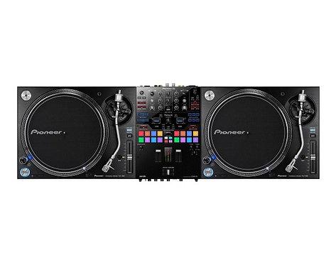 Pioneer DJ Bundle -DJM-S9, 2 x PLX1000 & Bag for DJSM9