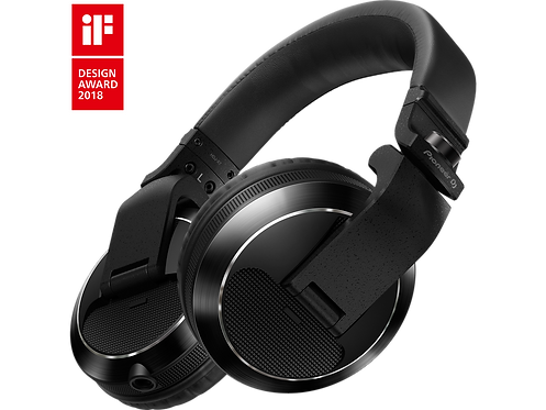 Pioneer DJ - HDJ-X7 Pro DJ 50mm Headphones with Swivel Ear black