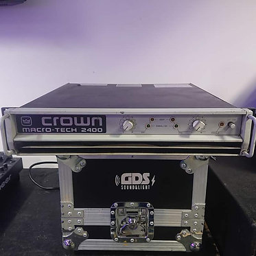 Crown Macro-Tech 2400 Stereo Power Amplifier (Used)