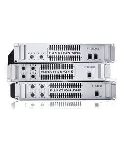 Funktion One F Series DSP Amplifiers