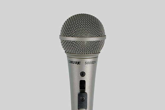 Shure 588SDX Cardioid Dynamic Vocal/Speech Microphone