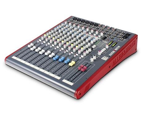 Allen & Heath ZED-12FX 12 Channel Mixer w/ USB & FX Main