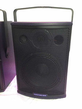 Ex-Demo Funktion One F81 (Pair) High Output Compact Loudspeakers