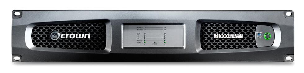 Crown DCi 2|300N 2-Ch Analogue/Digital 4Ω Power Amplifier with BLU link