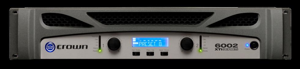 Crown XTi 6002 Two-channel, 2100W @ 4Ω Power Amplifier