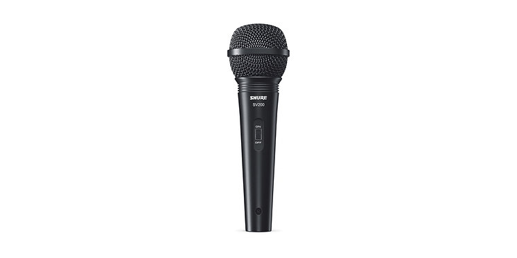 Shure SV200 Dynamic Vocal Microphone (Vocals/Karaoke/Presentations)