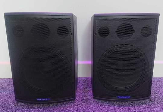 Ex-Demo Funktion One F101 (Pair) Compact Loudspeakers