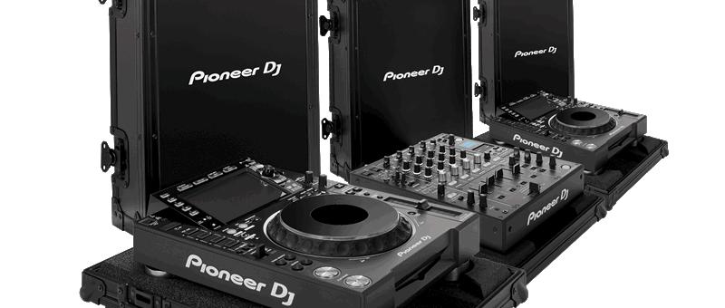 Pioneer DJTOUR1 Full System & FLIGHTCASE BUNDLE