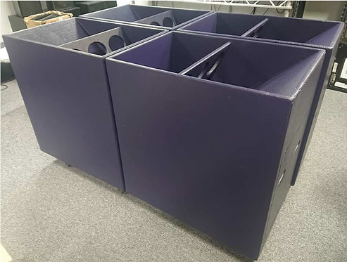 Used Funktion One F121 Bass Enclosures (Very Good Condition)