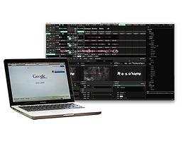 Laptop Including Resolume Program