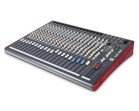 Allen & Heath ZED-22FX 22 Channel Live Mixer w/USB & FX Main