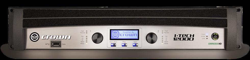 Crown I-Tech 12000HD Two-channel, 4500W @ 4Ω Power Amplifier