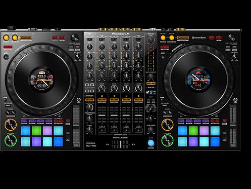 Pioneer DJ Bundle - DDJ1000 4Ch DJ Controller with FX for rekordbox DJ Software