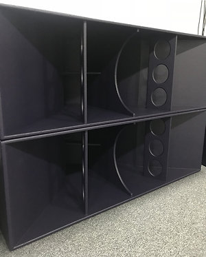 Used Funktion One F221 Bass Enclosures ANgle