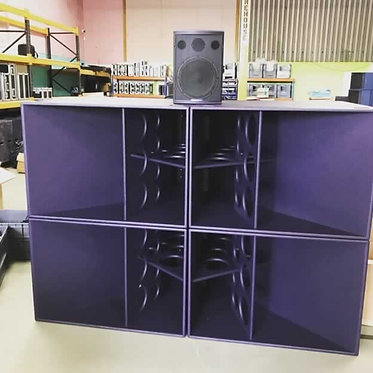 Used Funktion One F124 Bass Enclosures