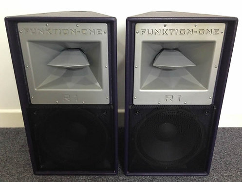 Used Funktion One Res1 (Pair) Loudspeakers (Excellent Condition)