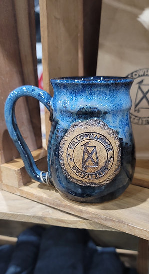 Coffee Mug (Blue Glaze)