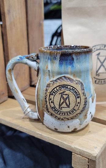 Coffee Mug (Blue & White Glaze)
