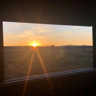 Shooting House Sunrise