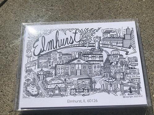 Elmhurst Note Cards