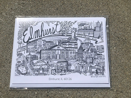 Elmhurst Note Card