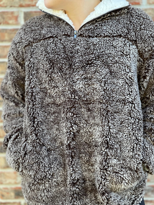 Fuzzy pull over