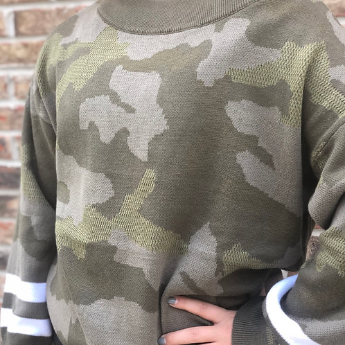 Laurel Camo Sweater