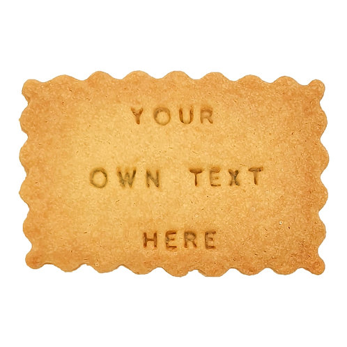 Biscuits - Customized Text