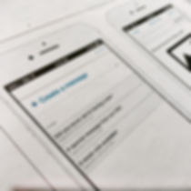 mobile app wireframe prototype