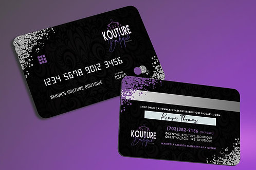 Credit Card Style Business Cards
