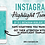 Thumbnail: Instagram Highlight Covers