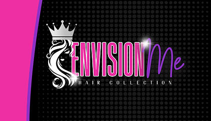 envision me hair collection biz card 1 c