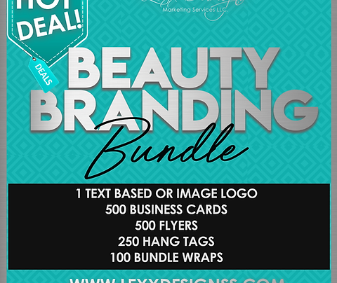 Beauty Branding Bundle Package