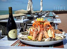 Restaurant Le Clapotis en bord de mer à