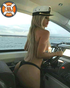 WE HAVE ONE HOT CAPTAIN