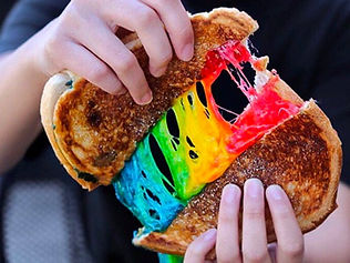 The Melt's Pride-Perfect Grilled Cheese