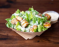 Romaine, shaved parmesan, w/grilled cheese croutons