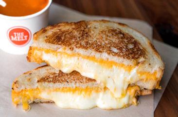 Three Cheese Classic Sandwich