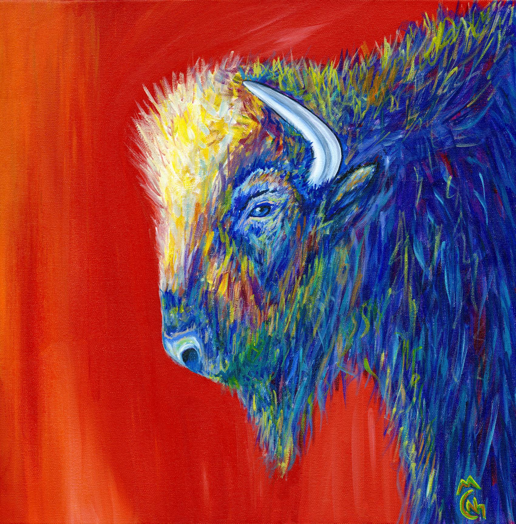 Bison Nicolette Maw