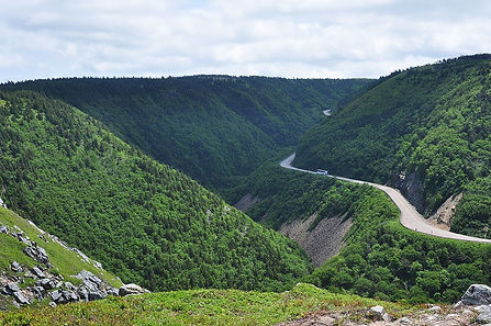 Cabot Trail North Mountain