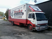 Commercial Brake Services mobile truck workshop for brakes