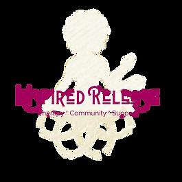 Inspired Release Logo cream tagline (1).